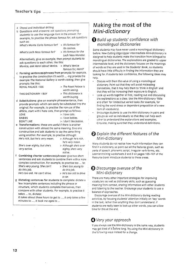 Success Upper Intermediate Test Book