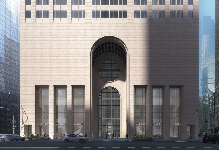 550 Madison Avenue. Image Courtesy of Snøhetta