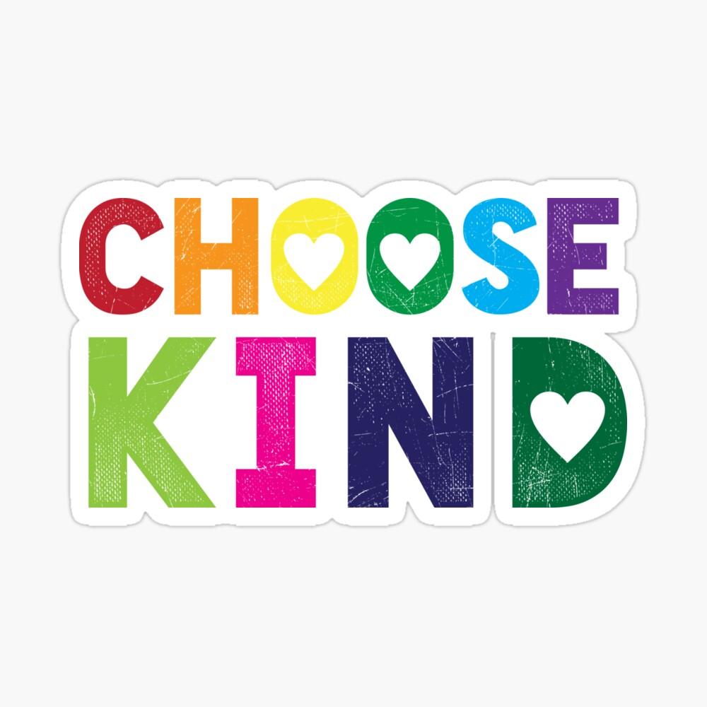 Choose Kind T Shirt - Anti-Bullying - Heart T-Shirt - Rainbow ...