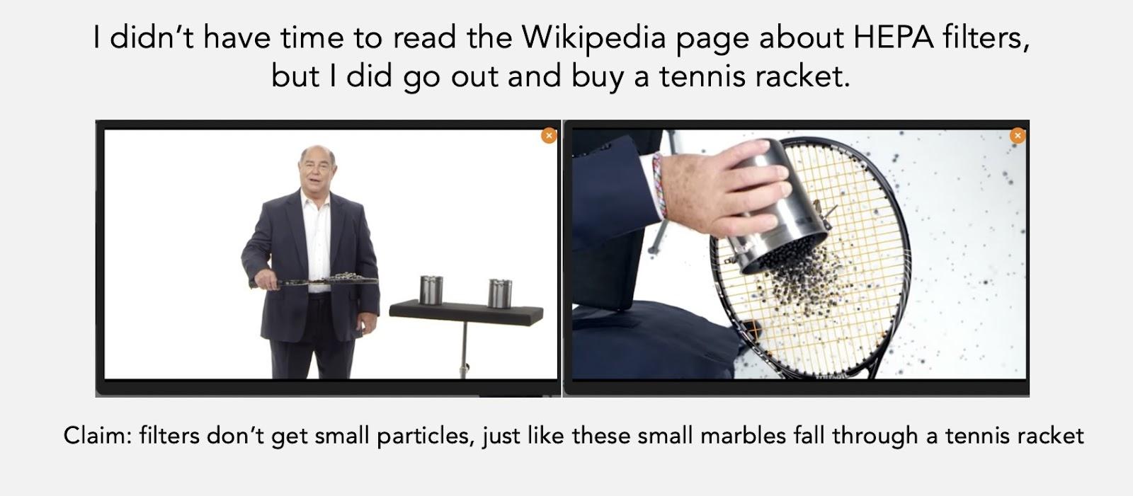 HEPA filter meme