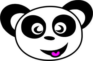 Happy Panda Face