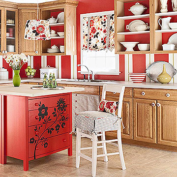 Design   Kitchen Island on All Words   Photos In This Article Belong To Better Homes   Gardens