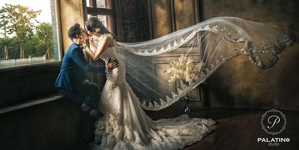 chụp ảnh cưới phim trường smiley ville