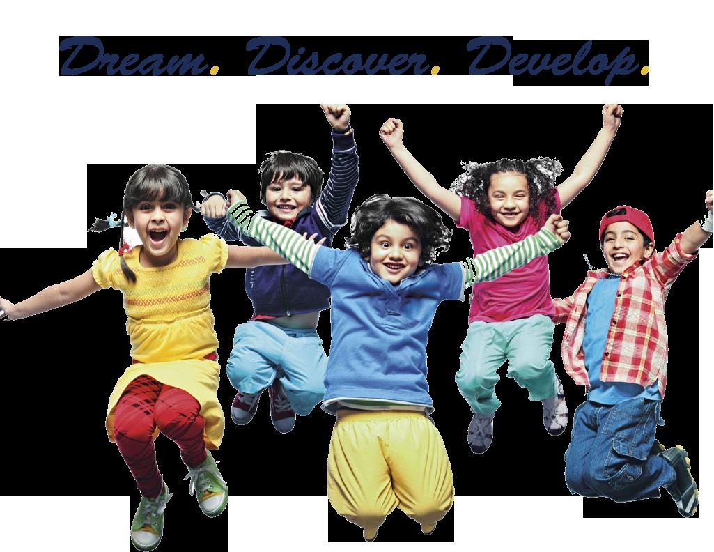 Dream. Discover. Develop.