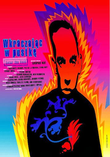 Polski plakat filmu 'Wkraczając W Pustkę'