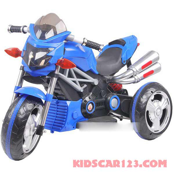 xe máy điện trẻ em 3212 màu xanh ngọc