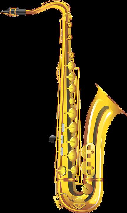 Saxophone, Musical Instrument ...