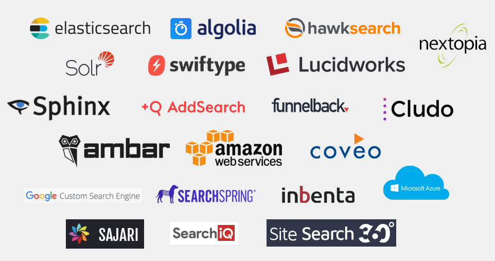 Different Search Engines