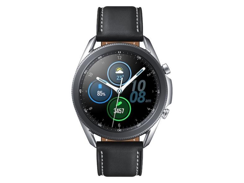 Galaxy Watch3 (45MM), Mystic Silver (Bluetooth) Wearables - SM-R840NZSAXAR  | Samsung US