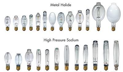 lâmpadas hqi vapor de sódio e vapor metálico