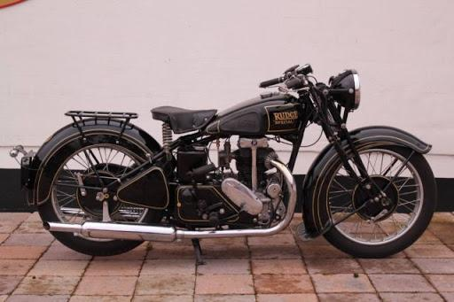 1931 Rudge-Whitworth Special - Very rare VINTAGE motorcycle
