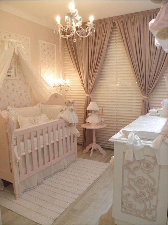Decorar quarto de bebê menina