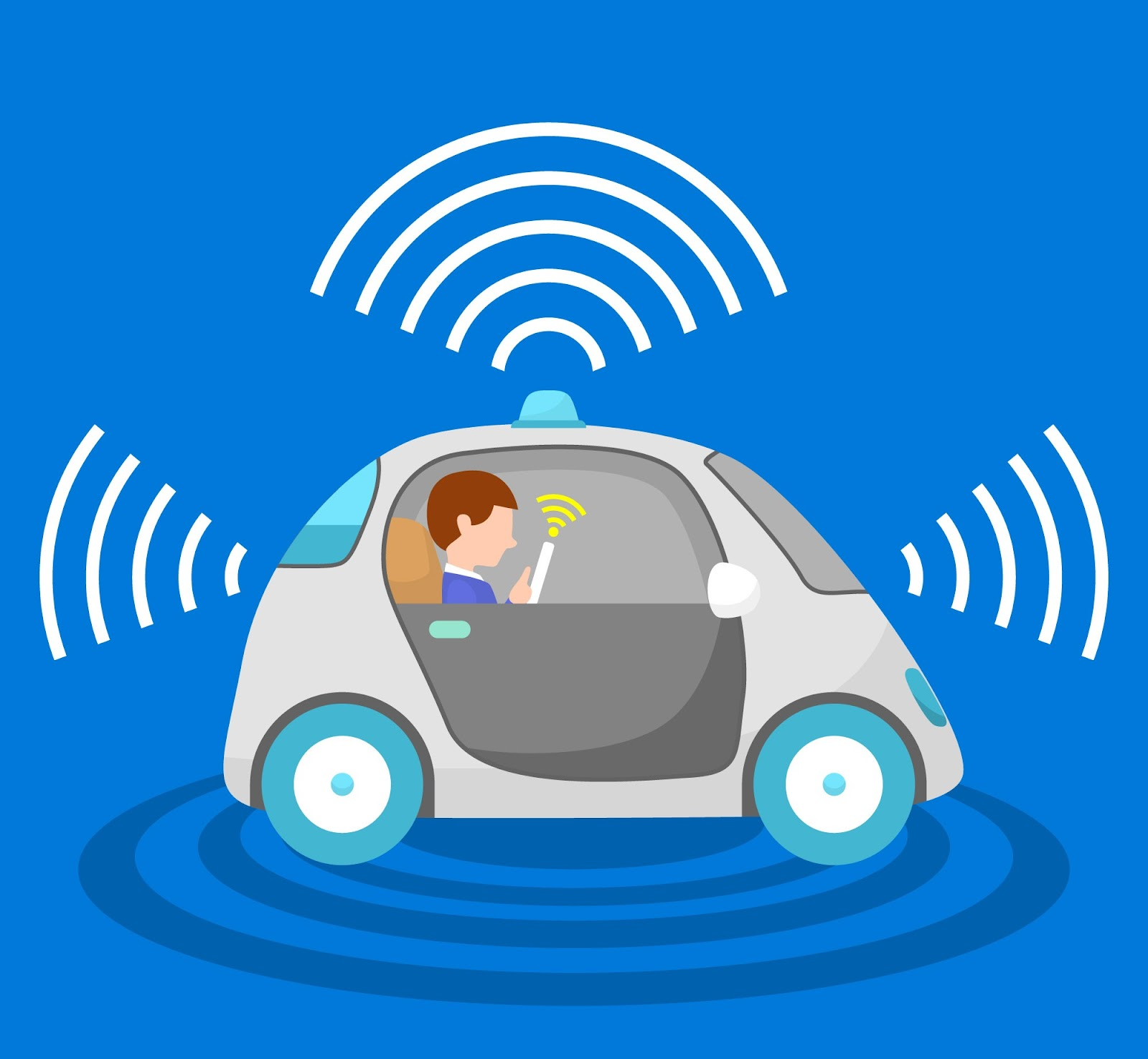 Reinforcement Learning in self-driving cars.