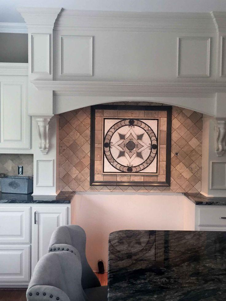 Arabesque mosaic kitchen tile, Mozaico