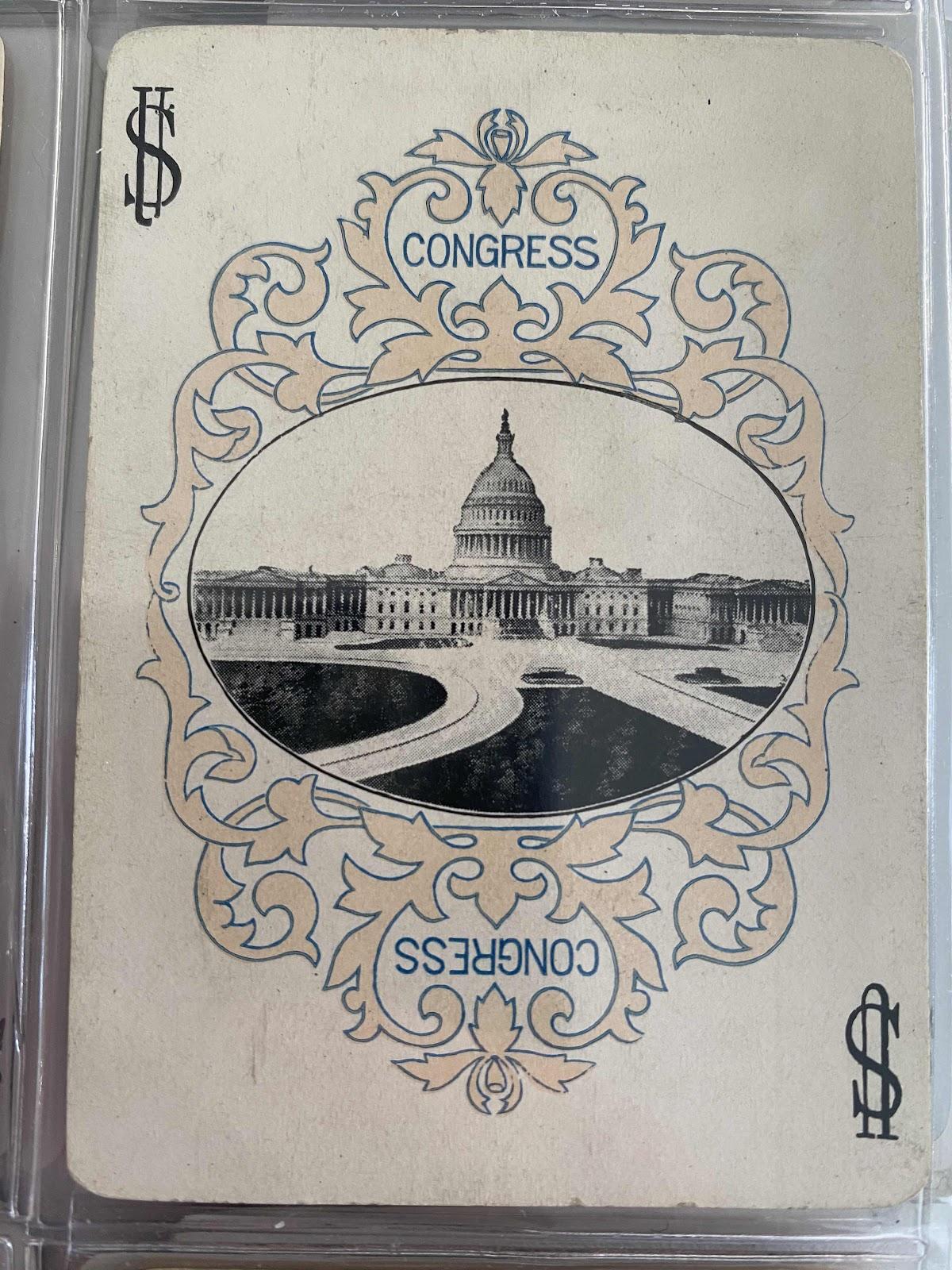 Pink Congress Joker, perhaps from 1895
