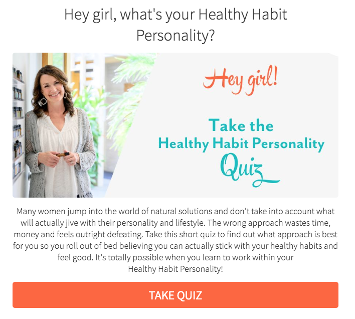 What's your Healthy Habit personality? quiz cover