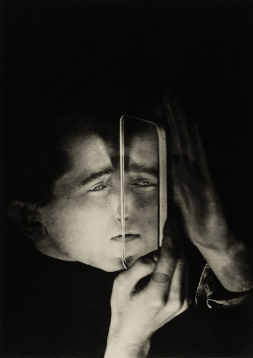 Lotte Stam-Beese :: Albert Braun with mirror, Dessau; Germany, 1928 / source: kameraclick and The Guardian Lotte (Charlotte) Stam-Beese arrived at the Bauhaus in Dessau not as a photographer but as a textile design and architecture student....