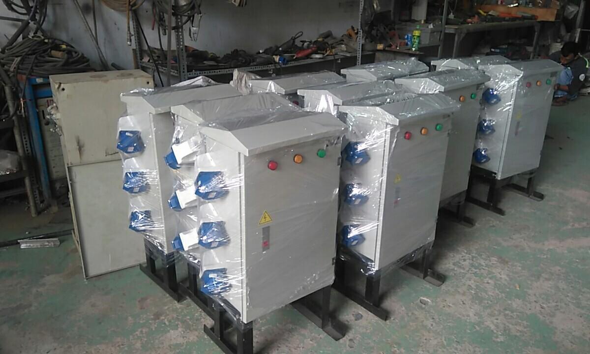 Thiết bị máy móc được sử dụng trong ngành điện