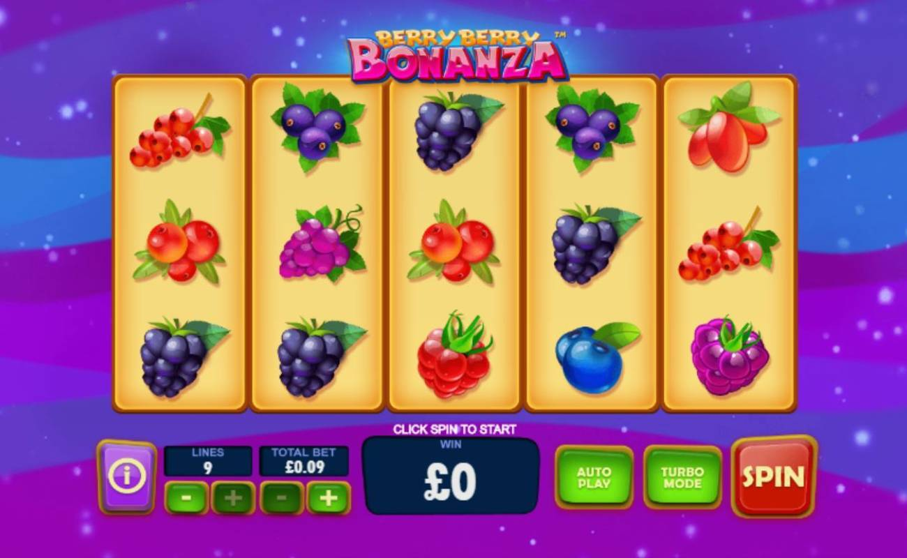 Berry Berry Bonanza by Playtech online slot casino game