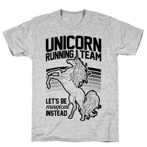 Unicorn Running Team Tee