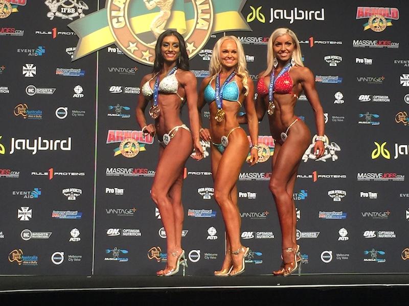 bodybuilder bikini women