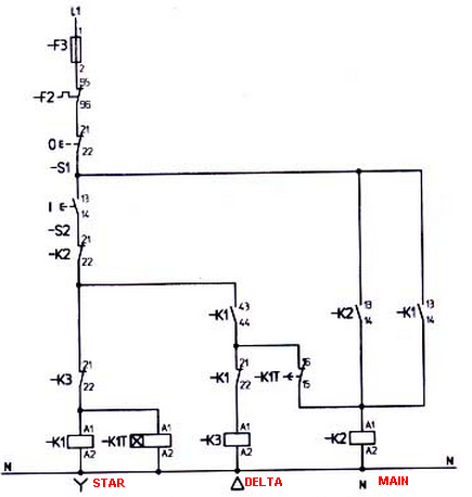 M&MA: STAR DELTA connection Diagram and Working principle on star sv32j basic wiring schematics, motor starter wiring diagram, www.ct coil circuit diagram, star delta contactor connections, delta wiring diagram, 3 phase starter diagram, soft starter diagram, reversing contactor wiring diagram, star delta switch, autotransformer diagram, star delta control panel, star delta contactor diagrams, electrical contactor wiring diagram, star delta motor, soft start wiring diagram, star electric motor diagram, transformer oil diagram, contactor coil wiring diagram, step down transformer diagram,