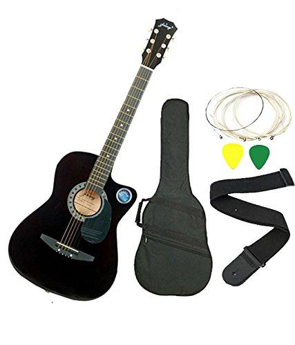 Jixing JXNG 6 Strings Black Acoustic Guitars