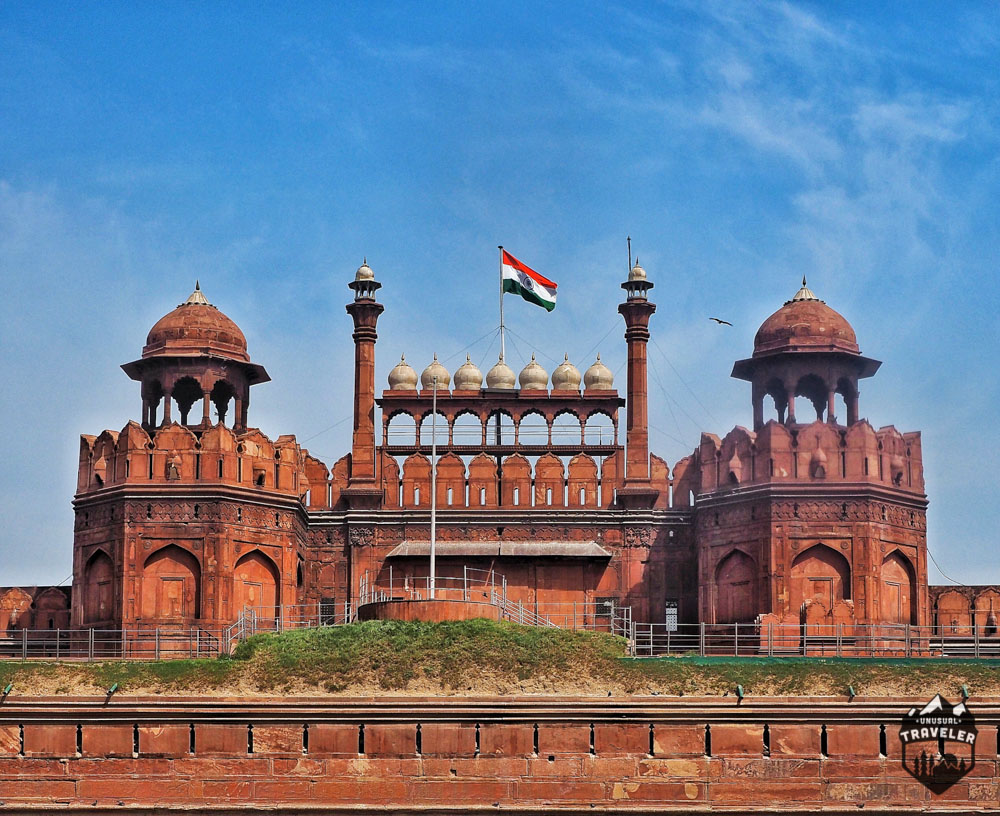 Lahore Gate entrance at Red Fort New Delhi