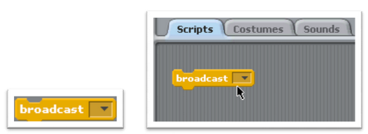 how to delete a broadcast in scratch