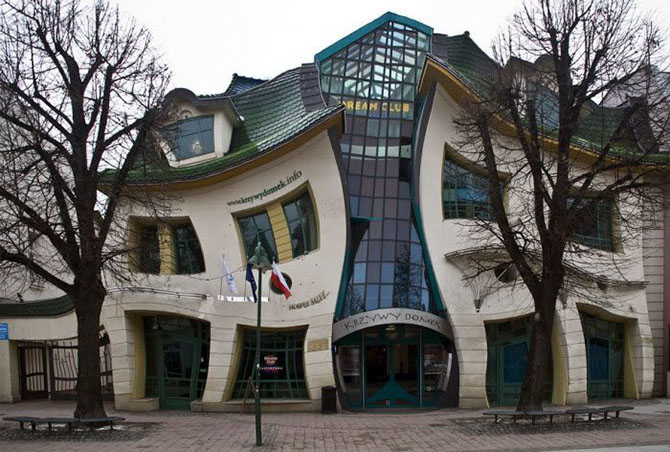 La Casa curva (Sopot, Polonia)