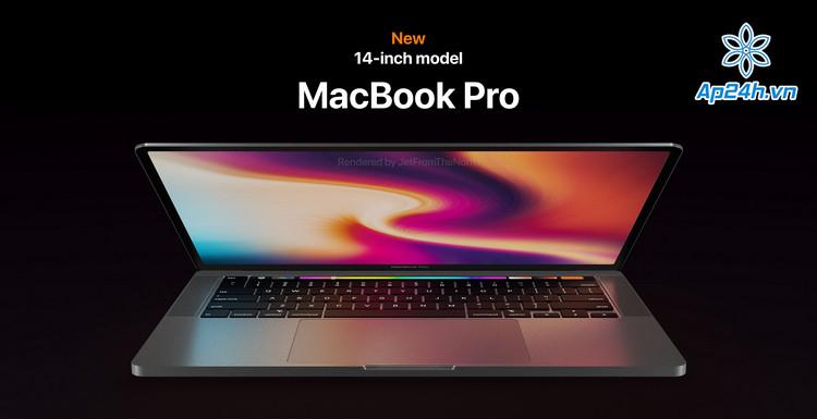 Thiết kế của MacBook Pro M1 14 inch