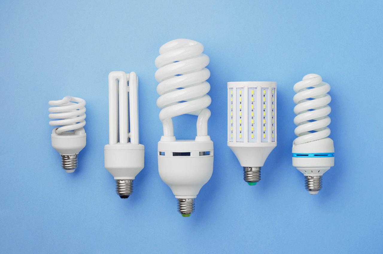 Các kiểu dáng của đèn compact