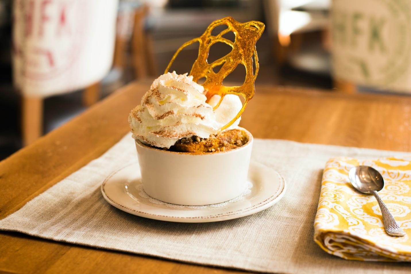 Pumpkin Bread Pudding, Chef Art Smith's Homecomin'