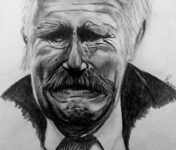 <strong>old man crying</strong> by royander on DeviantArt