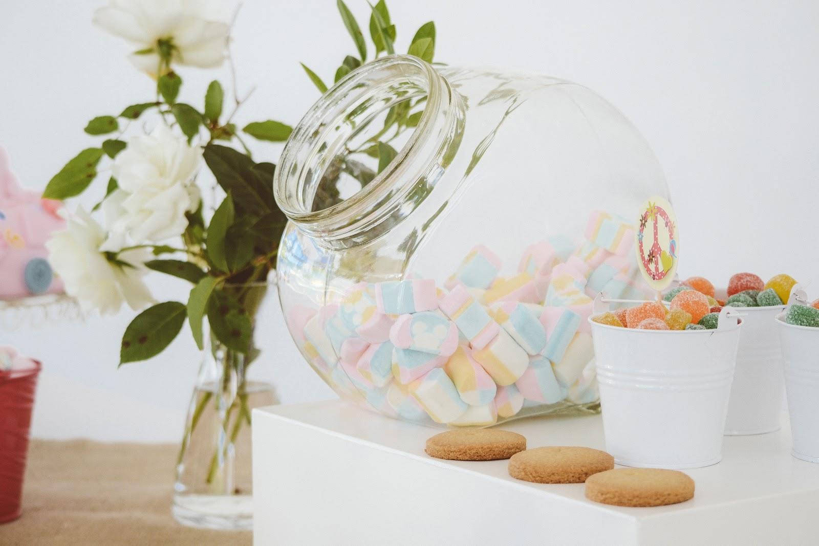 Wedding Candy Buffet Presentation