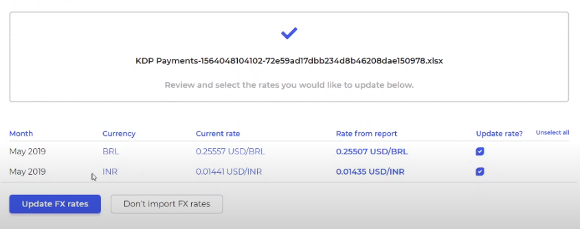 PublishDrive Abacus automatically fixes currency rates for different countries and stores.