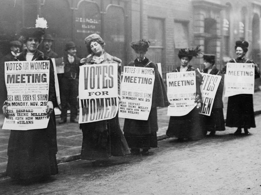 Suffragettes were key players in fighting for the 19th Amendment. Their campaigns and marches become critical during the first wave of feminism.