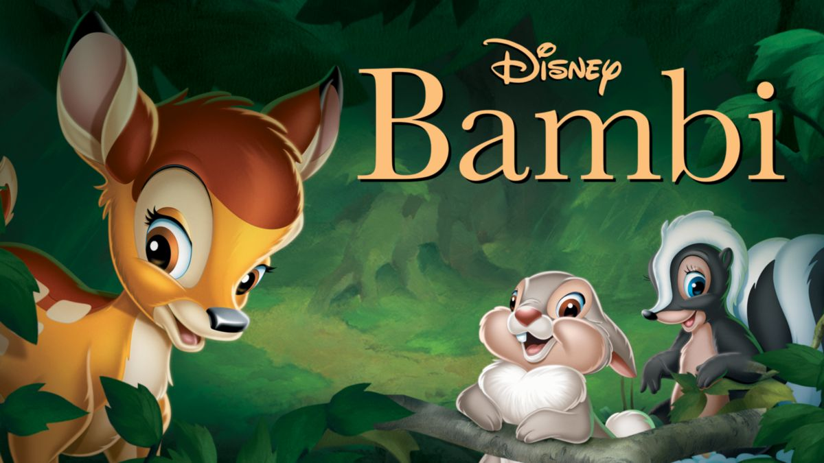 bambi, one of the best kids movie
