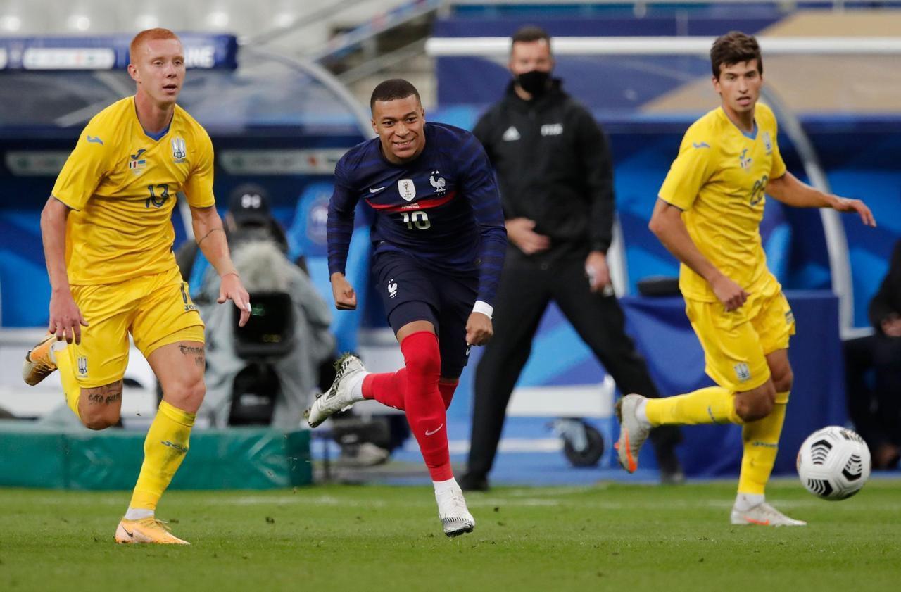 Pháp đã đè bẹp Ukraine đến 7-1 trong trận giao hữu năm 2020