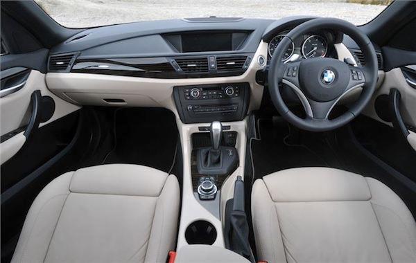 ภายในห้องโดยสาร BMW X1