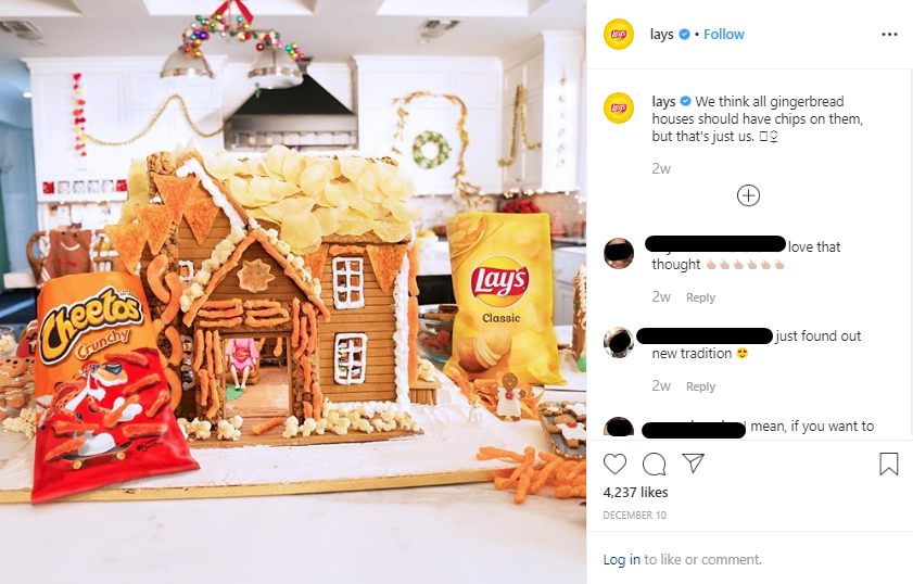 Holiday post 2019 - Lays waffers