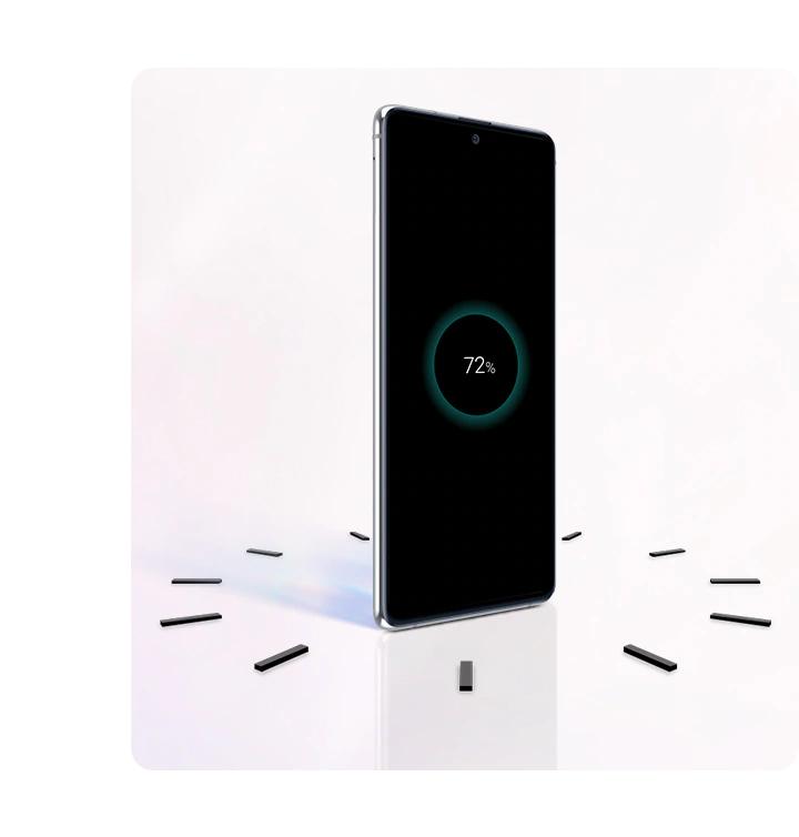 Samsung Galaxy Note 10 Lite 6/128 Gb Black заряжается всего за один час
