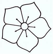 Obraz znaleziony dla: szablon kwiatka