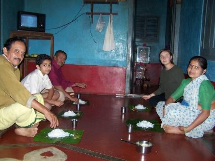 Image result for family eating meal sitting on floor