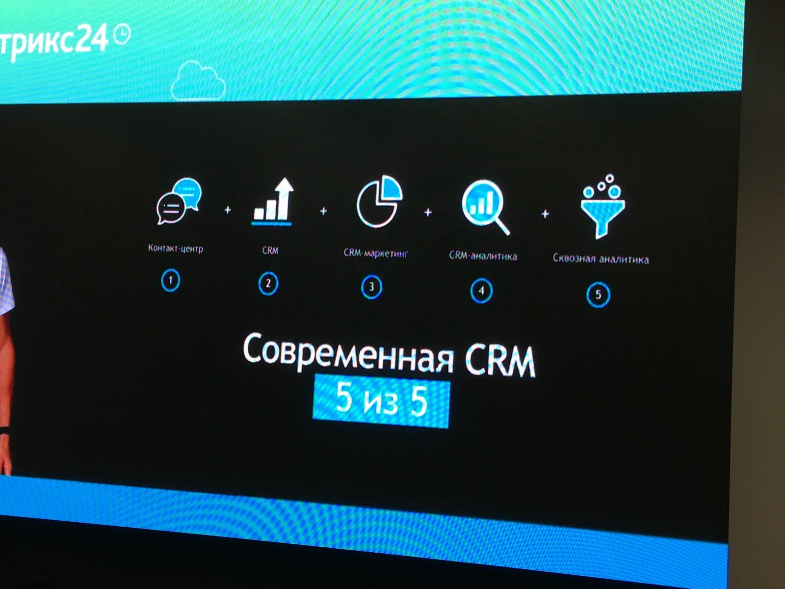 Современная CRM - 5 из 5!