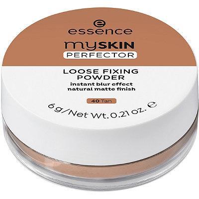 Essence My Skin Perfector Loose Fixing Powder Color:TanTan