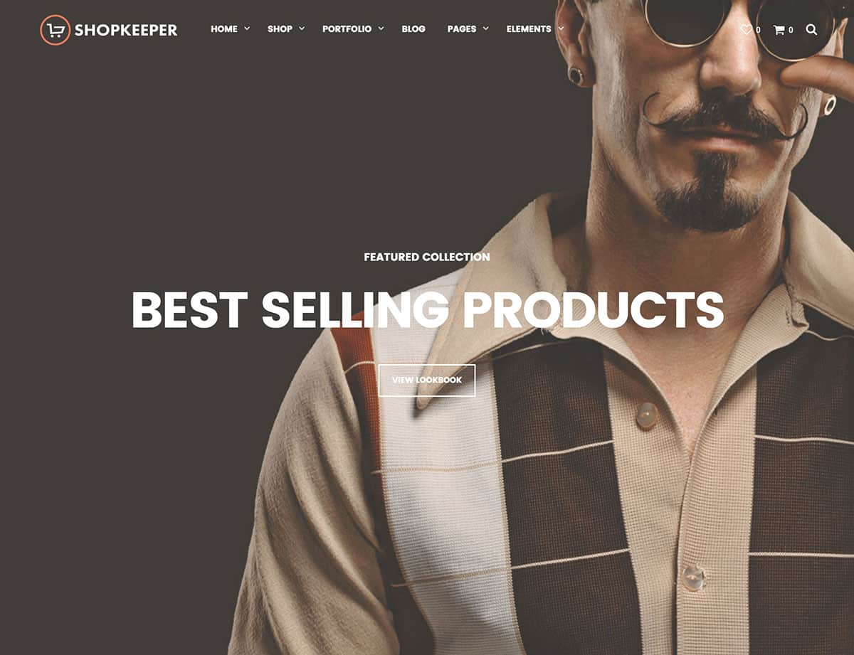 Wordpress ecommerce themes shopkeeper