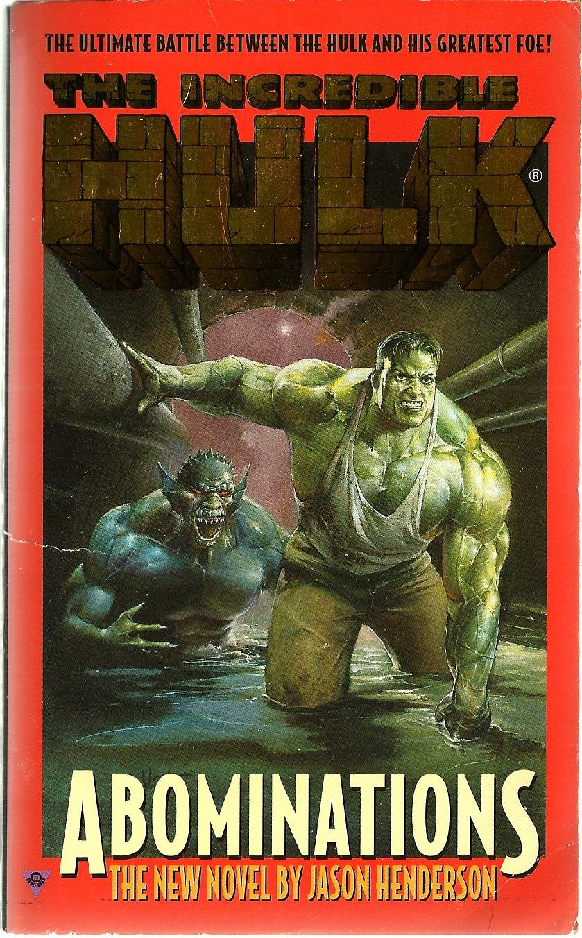 Image result for incredible hulk abomination novel