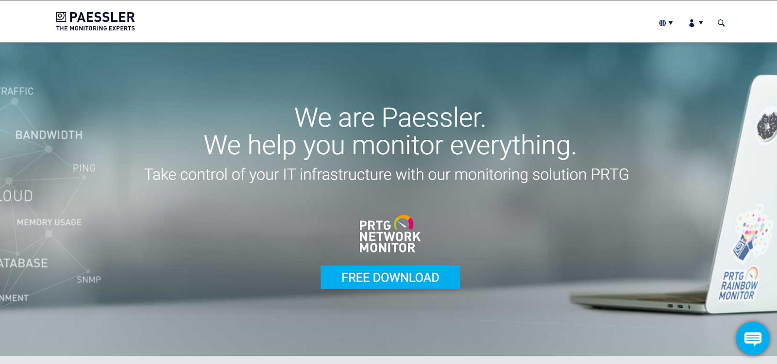 LAN Monitoring Tools - Paessler Network Monitor