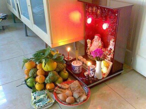Cách đặt bàn thờ thần tài thổ địa